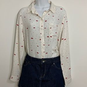 Button up shirt by BeacunchLounge  Size Large